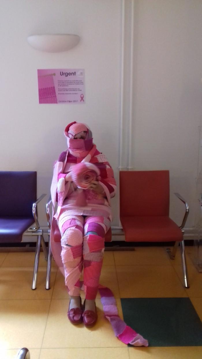la momie assise