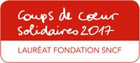 Coups de coeur solidaires 2017, lauréat fondation SNCF