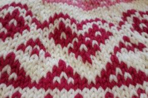 Cours de tricot – le jacquard!